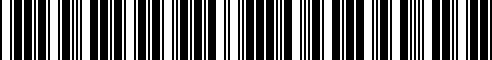 Barcode for 8081S-RNF50